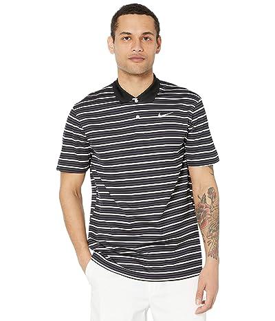 Nike Golf Dry Victory Polo Stripe (Black/Gridiron/White/White) Men
