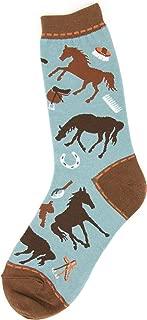 Foot Traffic, Women's Equestrian Socks, Fits Women's Shoe Sizes 4-10