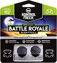 KontrolFreek FPS Freek Battle Royale Nightfall for Xbox One | Performance Thumbsticks | 2 High-Rise Convex (Domed) | Black