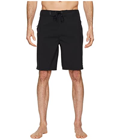 Hurley Phantom One Only 20 Stretch Boardshorts (Black) Men