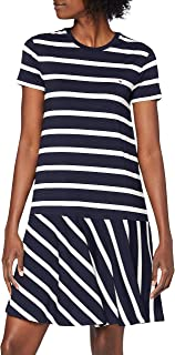Tommy Hilfiger Tiffany Relaxed STP C-nk Dress Vestito Donna