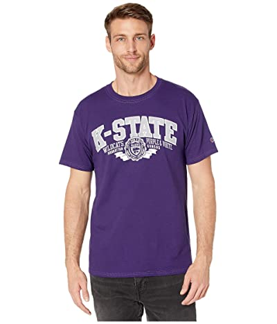 Champion College Kansas State Wildcats Jersey Tee (Champion Purple 1) Men