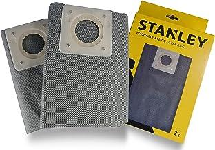 Stanley Filterzak van stof, wasbaar, 20 l, voor vaste en vloeibare stofzuigers