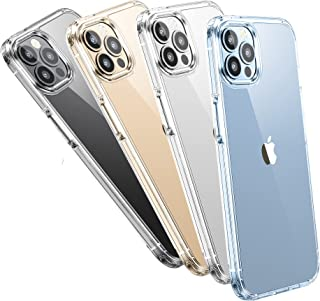 WSKEN Clear Compatible with iPhone 13 Pro Max Case, Non-Yellowing Shockproof Protective Cover Slim Thin Phone Case for Wom...
