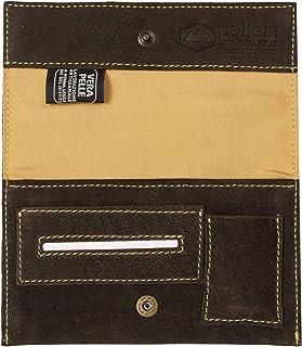 Pellein - Portatabacco in vera pelle Crackland Big - Astuccio porta tabacco, porta filtri, porta cartine e porta accendino...