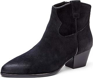 ASH Women's Houston Black Ankle Boots, Size US 10 (EU 40)