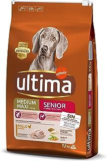 Ultima Pienso para Perros Medium-Maxi Senior de +7 Años con