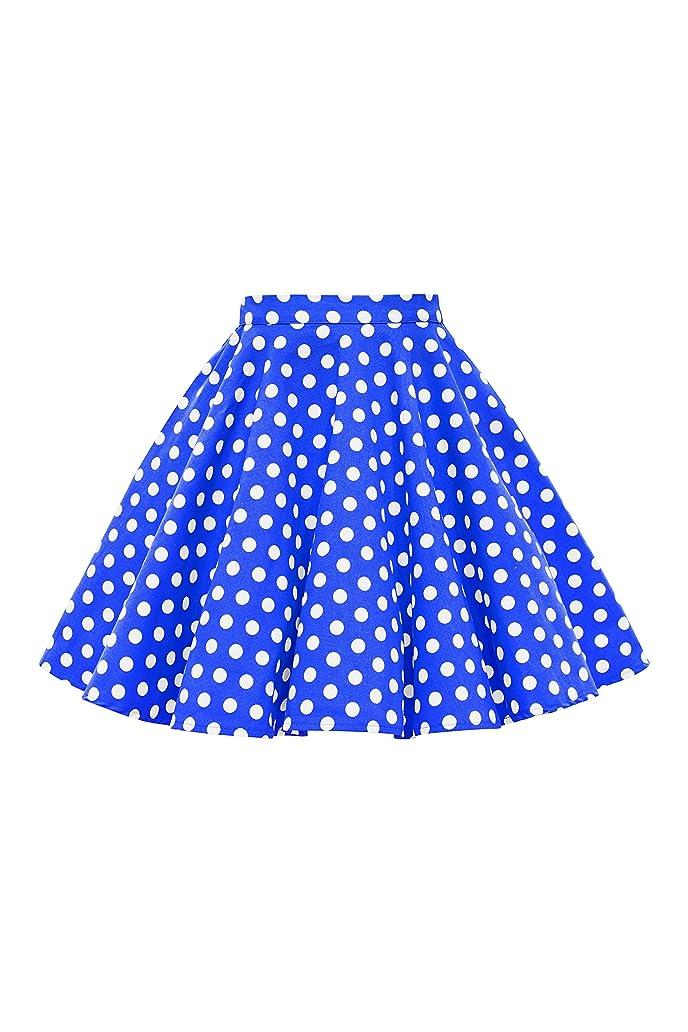 BlackButterfly Kids Vintage 50's Full Circle Girls Swing Skirt mnq3832365