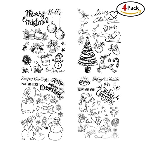 Christmas Stamps For Card Making: Amazon.com