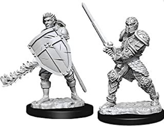Dungeons & Dragons: Nolzur's Marvelous Unpainted Minis: Male Human Fighter