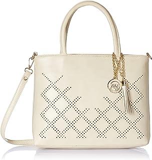 Nia & Nicole Women's Handbag (Cream)