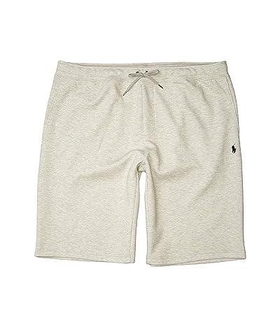Polo Ralph Lauren Big & Tall Big Tall Double Knit Tech Shorts (Light Sport Heather) Men