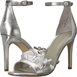 Silver Metal/Metallic Leather