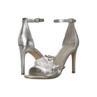 Joie Abigail (Silver Metal/Metallic Leather) High Heels