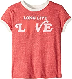 Long Live Love Ringer Tee (Toddler/Little Kids/Big Kids)