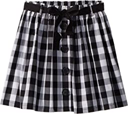 Gingham Skirt (Big Kids)