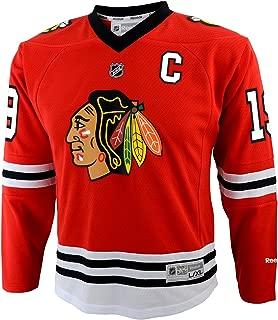 Outerstuff NHL Youth Boys 8-20 Toews J Blackhawks Player Replica Jersey