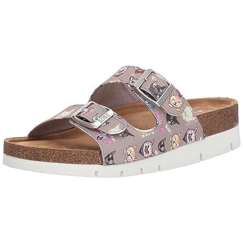 16830f1c2447 Skechers BOBS Women s Posh Cats Slide Sandal