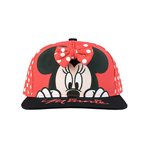 860d8128 Disney Girls Minnie Mouse Cap One Size