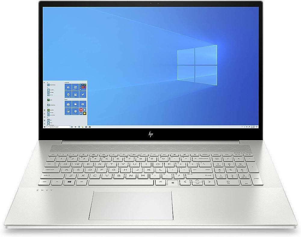 Hp - pc portatile intel core i7 nvidia geforce mx450 2gb ram 16 gb ssd 256 gb sata 1 tb ?HP Envy 17-cg0000sl