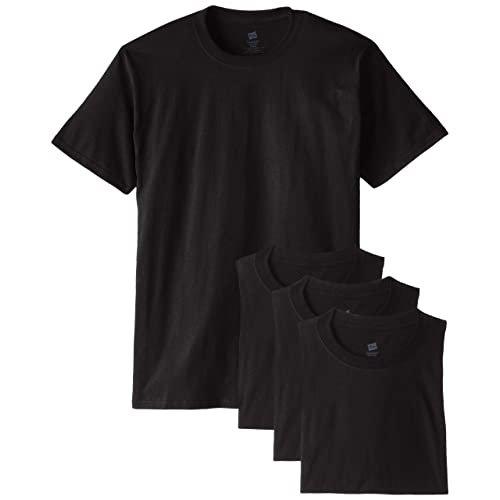 2d27558c9 Hanes Men s ComfortSoft Short Sleeve T-Shirt (4 Pack )