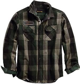 HARLEY-DAVIDSON Men's Appliqué Plaid Slim Fit Shirt, Plaid