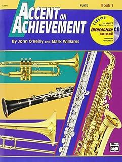 Accent on Achievement - Flute - Book 1 - Bk+CD