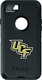 Fan Brander NCAA Black Phone case with School Logo, Compatible with Apple iPhone 6 and Apple iPhone 6s and with OtterBox Defender Series
