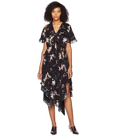 Preen by Thornton Bregazzi Clara Dress (Plastic Foxglove Black) Women