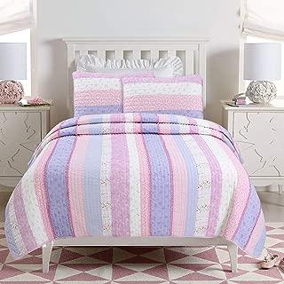 Best the big one variegated stripe print quilt set Reviews