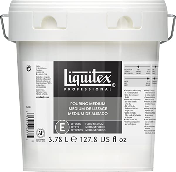 Liquitex Professional Pouring Effects Medium 127 81 Oz Gallon