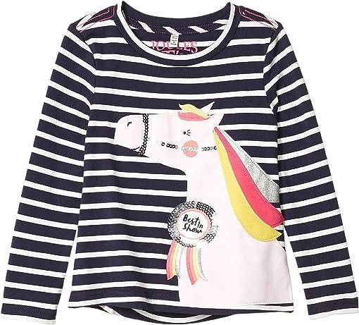 Navy Stripe Horse
