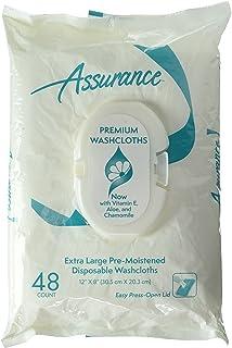 ASSURANCE PREMIUM WASHCLOTHES 12x 8 (48 count)