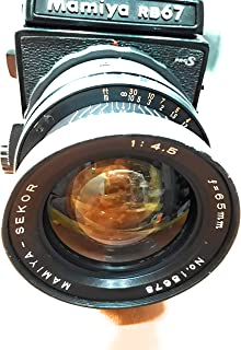 Rm Camera- MAMIYA RB 67 S PRO Large Format Camera Working Conditions-
