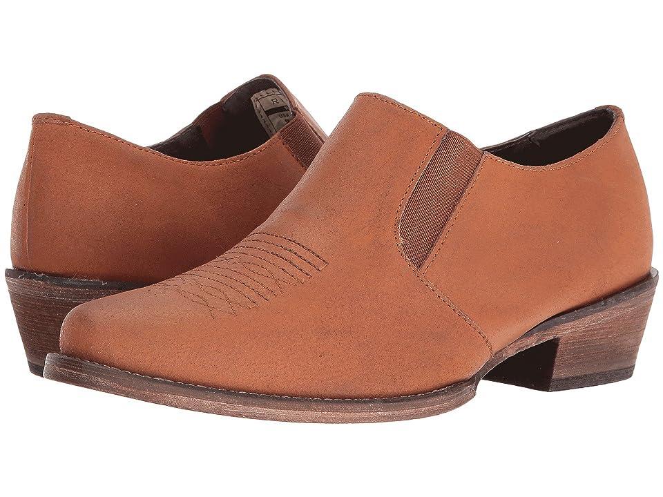 Roper Shoe Boot (Amber Crazy Horse) Cowboy Boots