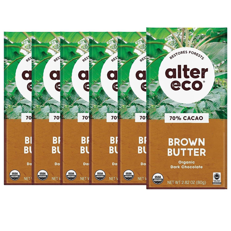 [Alternative dealer] Alter Eco Dark Chocolate Bars Pure O Cocoa Fair Deluxe Trade
