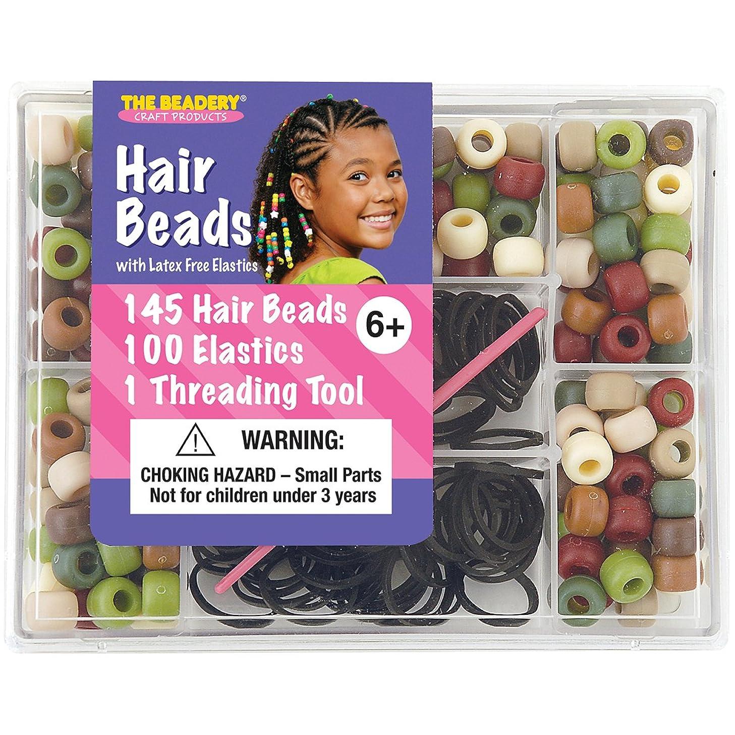 The Beadery Camo Hair Bead Box kfgwbs7291672