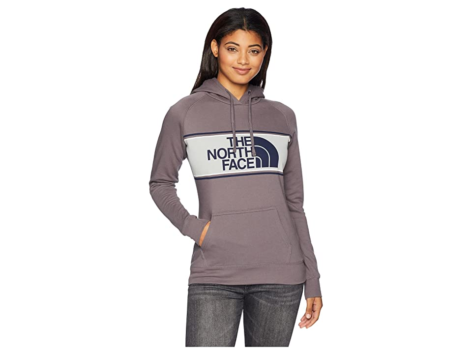The North Face Edge to Edge Pullover Hoodie (Rabbit Grey) Women