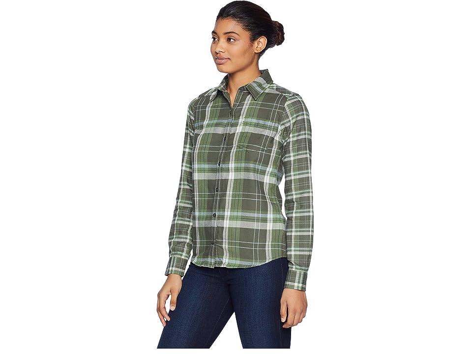 Marmot Jensen Flannel Long Sleeve (Crocodile) Women