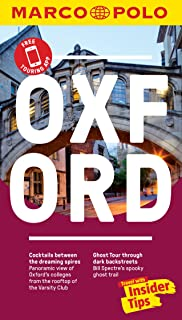 Oxford Marco Polo Pocket Travel Guide - with pull out map