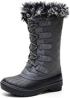 ALEADER Women's Terra Waterproof Winter Ankle Snow Boots