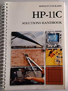 HP-11C Owner's Handbook and Problem-Solving Guide.