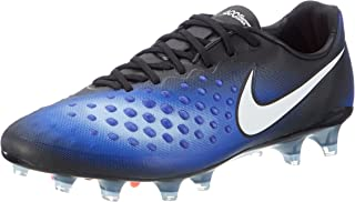 Nike Men's Magista Opus II FG Soccer Cleats (9, Black/White-Paramount Blue (843813-019))