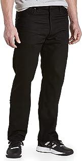 501 Big & Tall Polished Black Jeans - 46x32