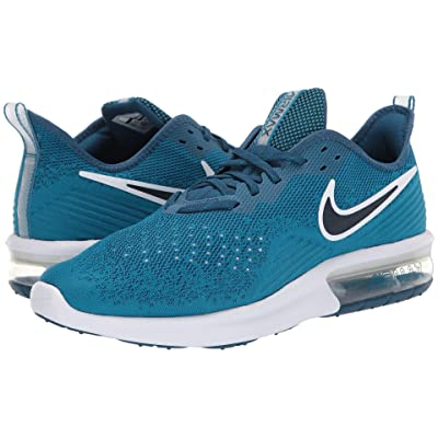 Nike Air Max Sequent 4 (Green Abyss/Blue Force/Blue Force/White) Men