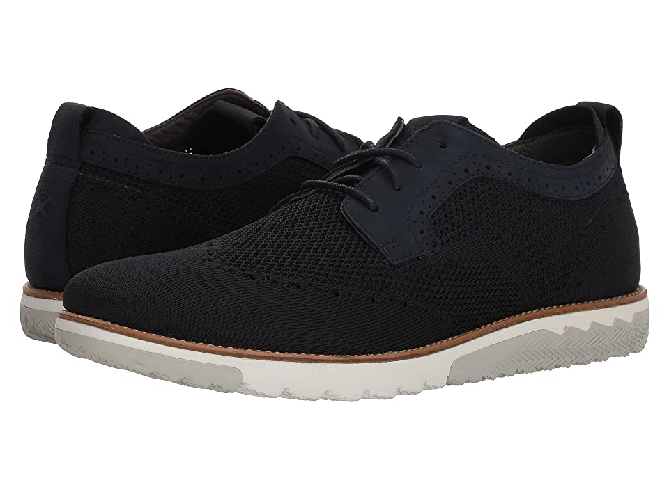 Hush Puppies Expert WT Oxford (Navy Knit/Nubuck) Men