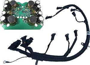 Fuel Injector FICM Wiring Harness Fits 04-07 6.0L Ford Diesel Powerstroke (FICM board and Injector Harness)