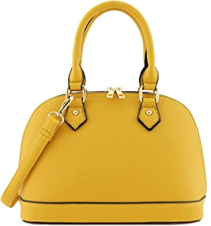 Zip-Around Classic Dome Satchel