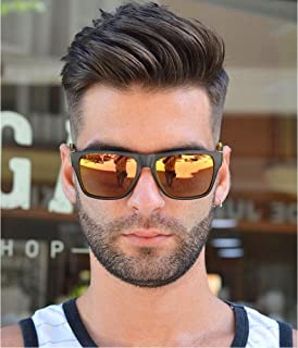 """Dreambeauty Men's Toupee 10""""×8"""" European Virgin Human Hair Toupee Super Soft Thin Skin Mens Hair pieces Hair Replacement System Monofilament Net with PU around Base for Men(#4)"""