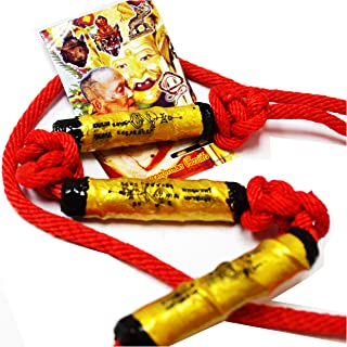 Thai Classic Jewelry Pendants Takrut Takrud Safety Waist Takrut Simaha Thep Be 2552 by Lp Kalong Wakaolaam Temple